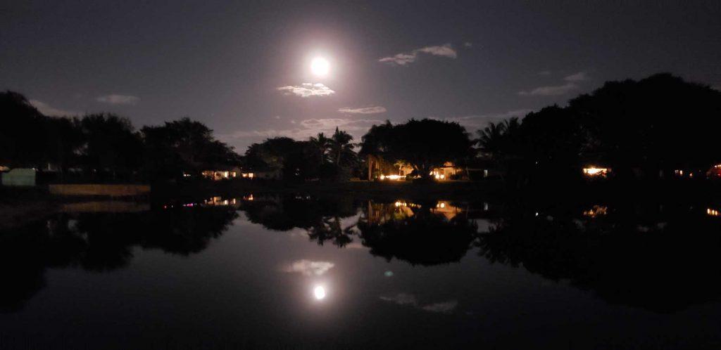 Timbercreek Lake at Night